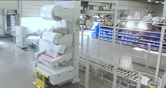 New packing machine at HAURATON in Ötigheim