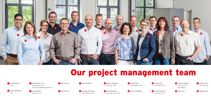 Projektmanagement Team